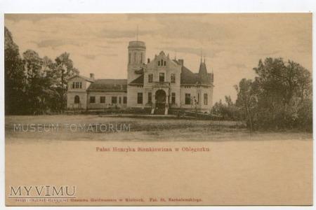Oblęgorek - Pałac H. Sienkiewicza - pocz. XX w.