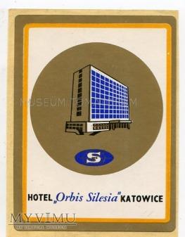 Naklejka hotelowa - Katowice - Hotel Silesia