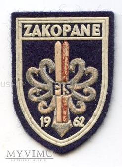 Naszywka - Zakopane FIS 1962
