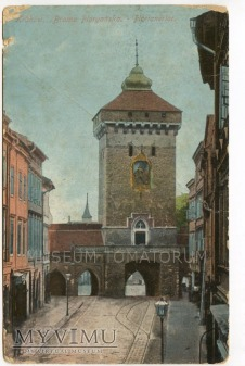 Kraków - Brama Floriańska - 1910
