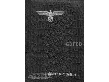 Strona tytułowa albumu Aufklärungs-Abteilung 1