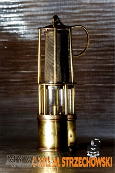 Lampa górnicza benzynowa Carl Wolf