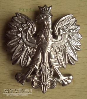 Orzełek metalowy policyjny 55x50mm