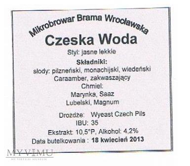 czeska woda
