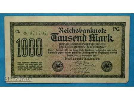 1000 Marek 1922