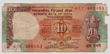 Indie, 10 rupii