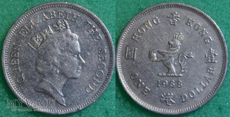 Hong Kong, 1 dolar 1988