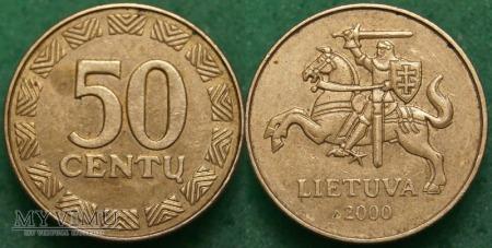 Litwa, 50 Centų 1997