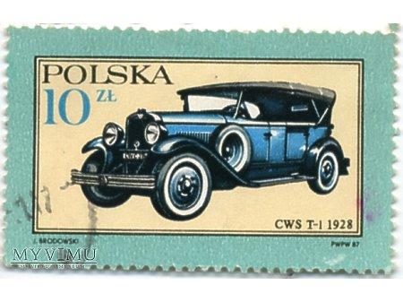 Duże zdjęcie CWS T-1 1928r