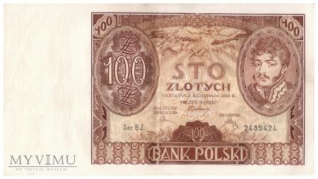Polska - 100 złotych (1934)