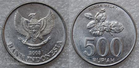 Indonezja, 500 RUPIAH 2003