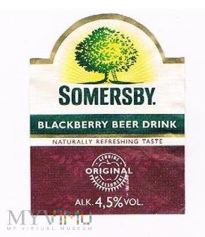 somersby blackberry beer drink