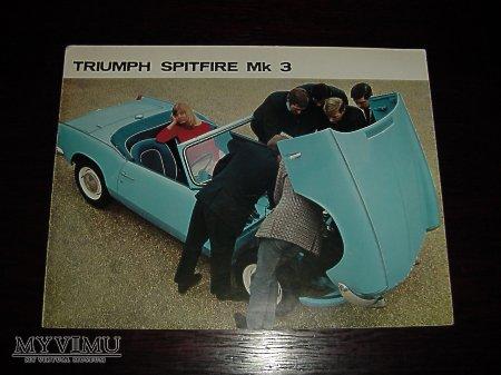 Prospekt TRIUMPH SPITFIRE Mk3