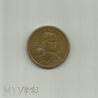 USA 1 dolar, 2000