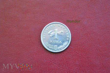 Moneta chorwacka: 1 kuna
