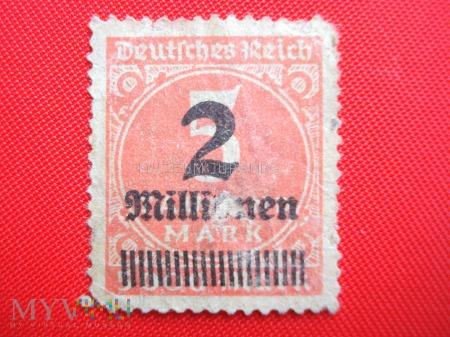 Znaczek Rzeszy Niemieckiej (4)