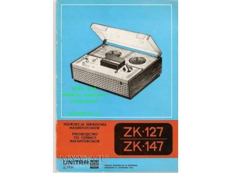 Instrukcja serwisowa magnetofonu ZK-127, ZK-147