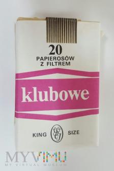 Duże zdjęcie Papierosy KLUBOWE King Size 1990 rok.