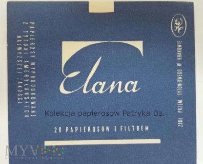 Papierosy ELANA 20 szt. - etykieta