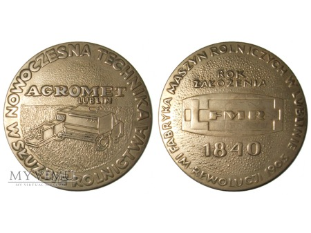Agromet Lublin medal