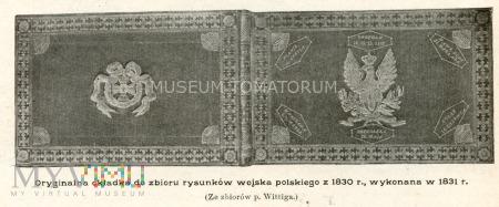 Okładka do rysunków z 1831 roku