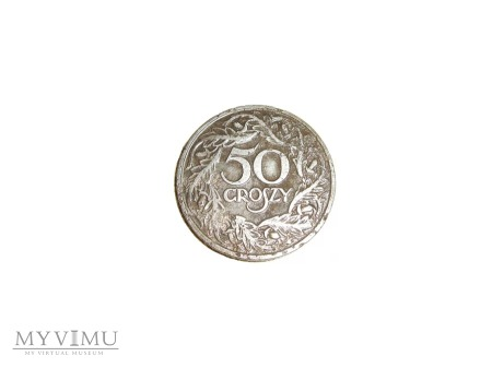 50 groszy 1923 r.