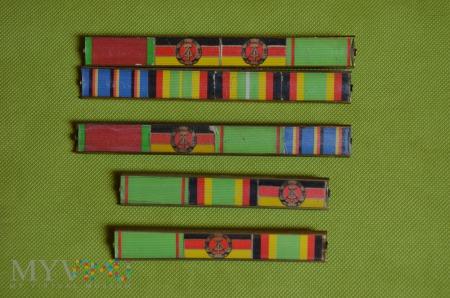 Baretki medali NRDowskich