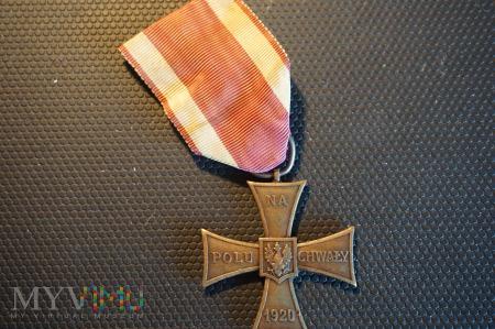 Krzyż Walecznych - Knedler nr:4996 - lata 1920-21