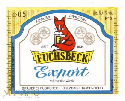 Fuchsbeck, Export