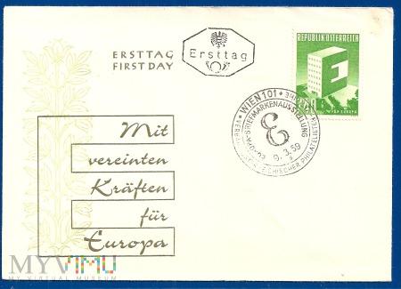 Fdc-Austria.1959.8