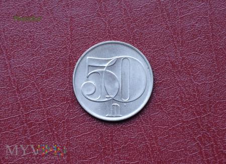 Moneta czechosłowacka (CSFR): 50 halerzy