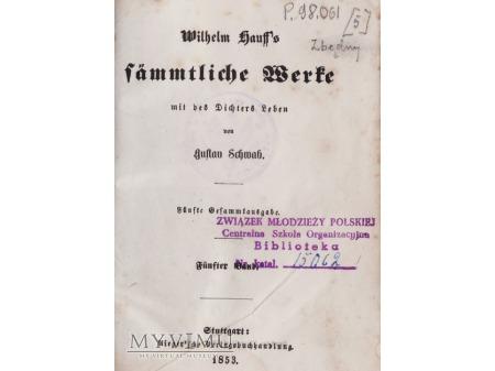 Niemiecka książka z 1853