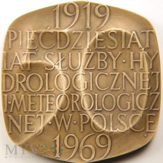 1969 - 13/69 Br - 50 lat Służby Hydr. i Meteo.