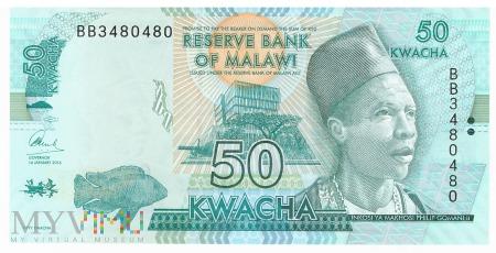 Malawi - 50 kwacha (2016)