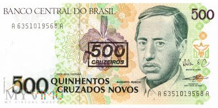 Brazylia - 500 cruzeiros (1990)