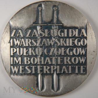1972 - 29/72 - Za zasługi dla 1 Warszawskiego Pułk