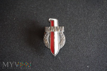 Duże zdjęcie Odznaka Koła Młodzieży Wojskowej - wersja z błędem