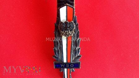 Odznaka absolwencka WSO MO w Szczytnie