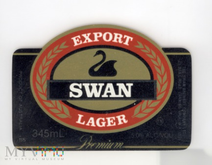The Swan, Export Llager