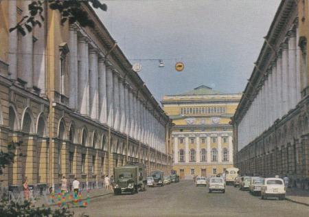 Leningrad. Ulitsa Zodchego Rossi.