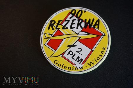 Odznaka Rezerwy Wiosna 90 z 2 PLM Goleniów