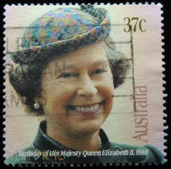 Australia 37 c Elżbieta II