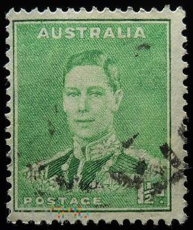 Australia 1 1/2d Jerzy VI