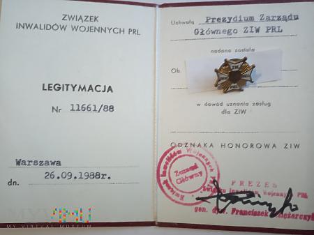 Odznaka ZIW