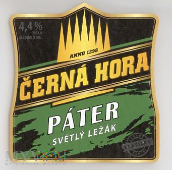 Cerna Hora, Pater