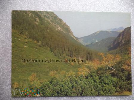 TATRY WYSOKIE Tatrzański Park Narodowy Dolina Rozt