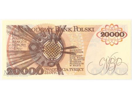 20000 złotych 1989 rok seria C