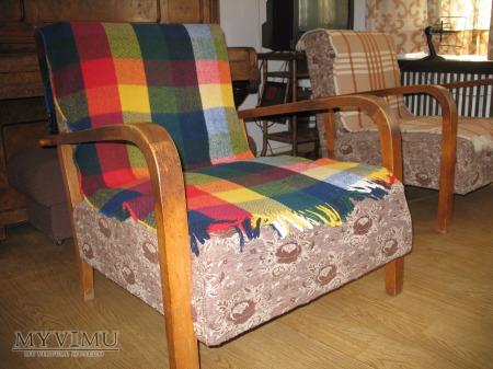 Fotel - leżanka po rozłożeniu