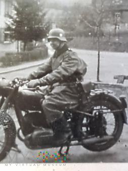 Duże zdjęcie Niemcy - Fotografie z albumu - Na motocyklu