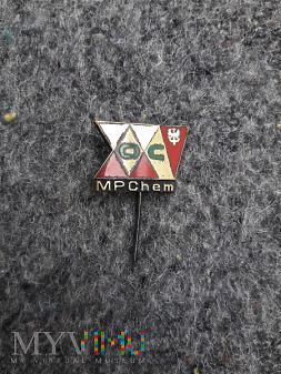 Przypinka XXV lat OC MPChem